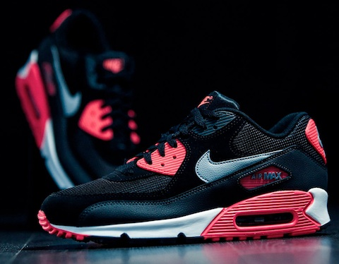 Air Max 90 Black Infra Red 1