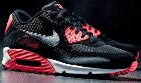 Air Max 90 Black Infra Red Reverse