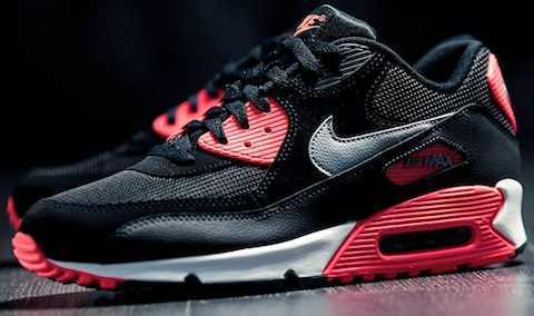 Nike Air Max 90 Black Infrared – WHAT??? – The Word on the Feet
