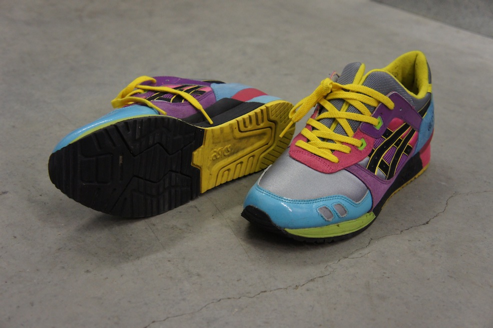 A pair a day for a year, Day 40, Asics Gel Lyte III David Z