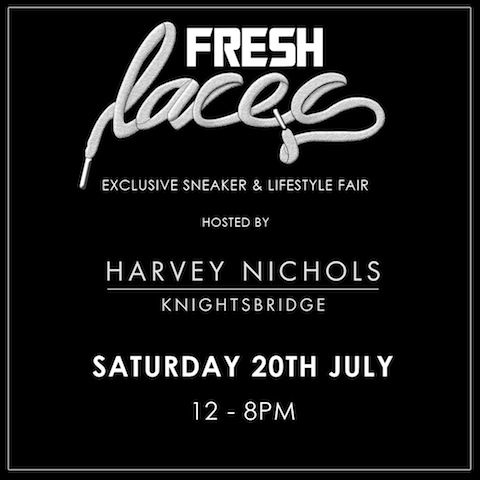 FRESH LACES X HARVEY