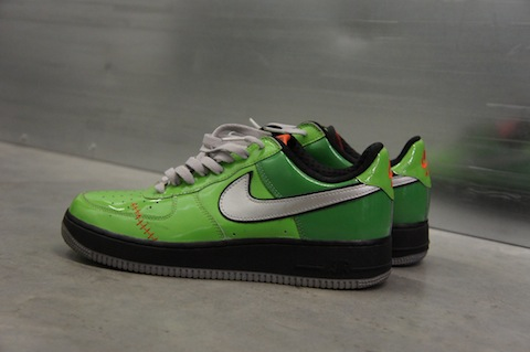 pair a day for a year, Day 33, Nike Air Force 1 Low Frankenstein