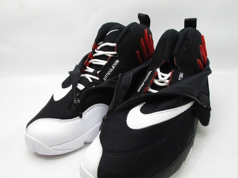 nike glove black white 2
