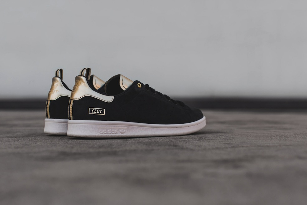 Adidas Stan Smith x Clot – the Golden Touch – The Word on ...