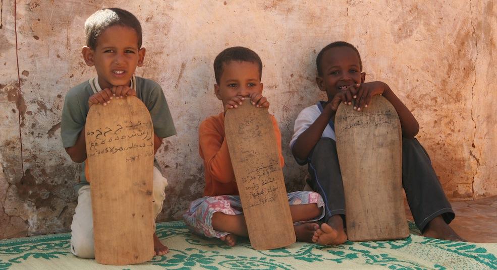 Madrasah_pupils_in_Mauritania