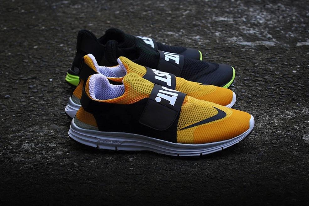 Nike Lunarfly 306 Noir Jaune tZG9R5t5D0