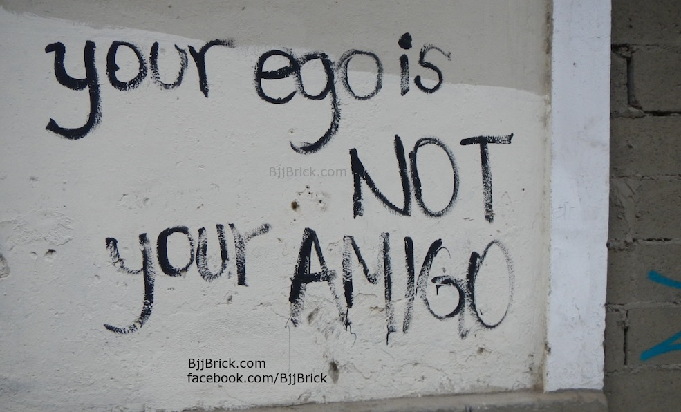 Your-ego-not-amigo