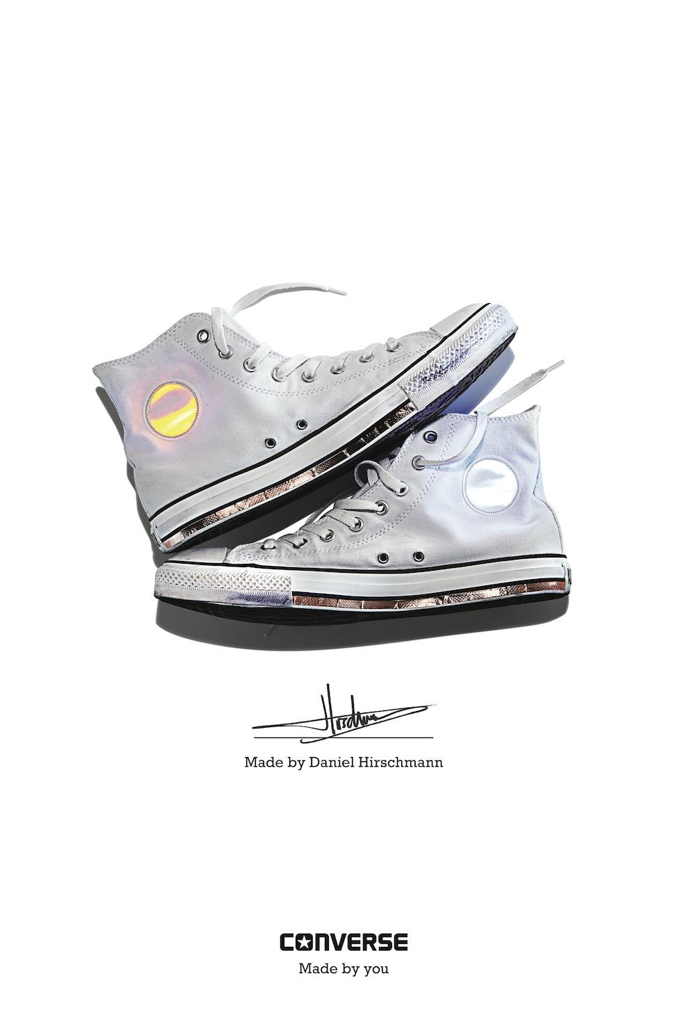 Daniel Hirschmann - Converse Sneaker Portrait