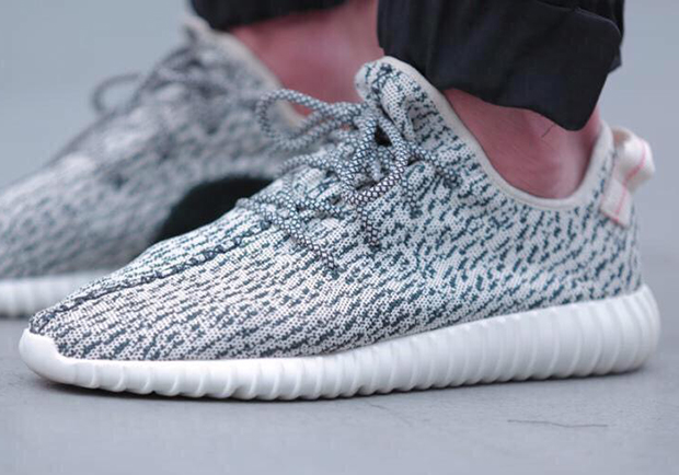 On Foot Yeezy Boost 350