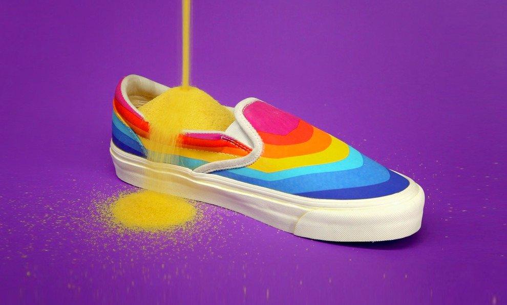 vans arcobaleno