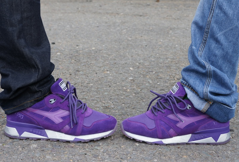 best service d9762 38153 Tomorrow Sep 12 sees the Euro drop of the Diadora N9000 x Raekwon x Packer  Shoes  Purple Tape  and unless you won one of the store raffles or you ve  been ...