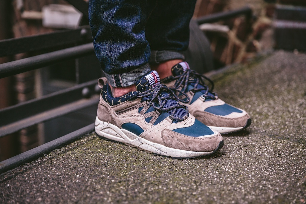 Karhu Fusion 2.0 SlateGreen:Brindle On Feet