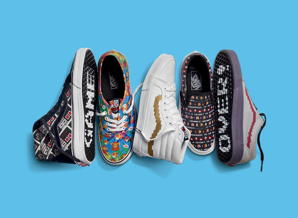 2f74a43e319c1c Vans x Nintendo – Power Up Time! – The Word on the Feet