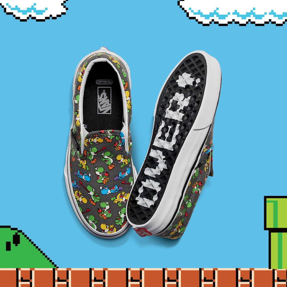 FA16_Y_Classics_SlipOn_Nintendo_YoshiPewter_Pair2-ELEVATED